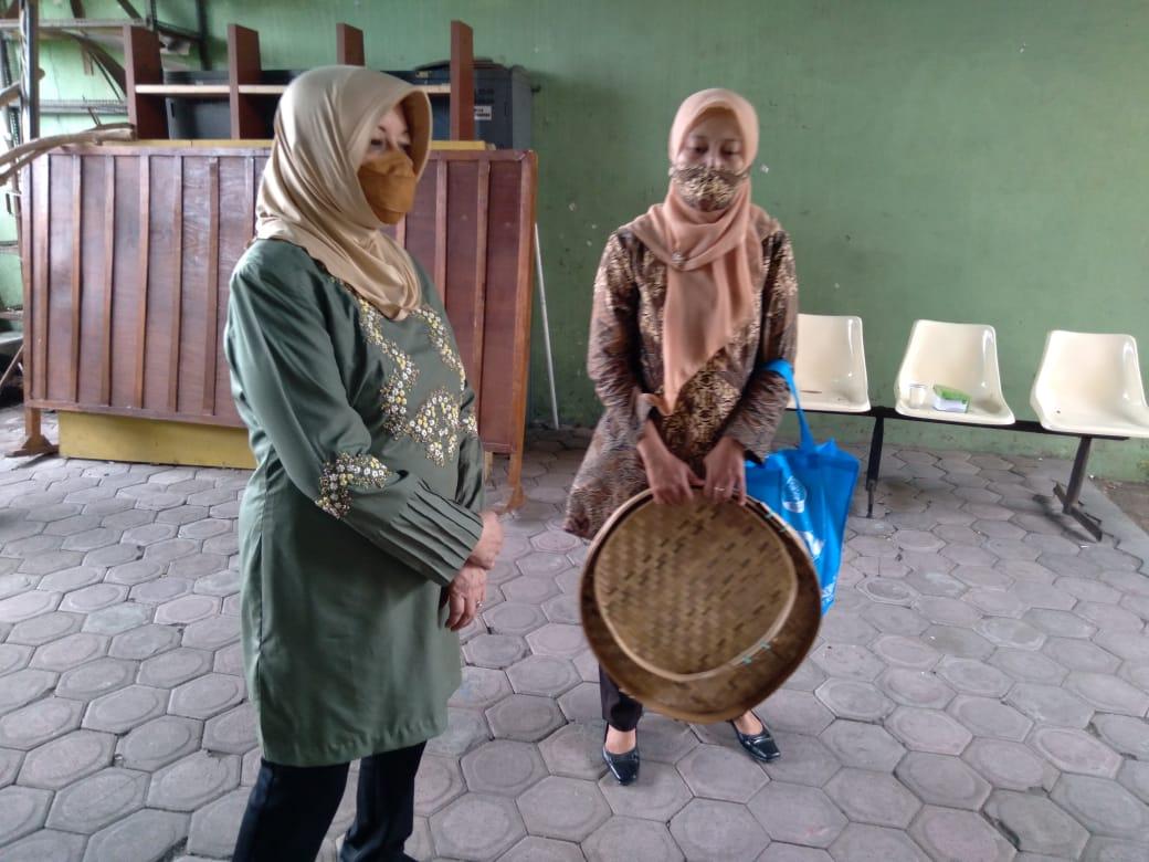 Bupati Kediri Hadiri Pelatihan Pengrajin Bambu Mahir, Pengrajin Bambu Harus Lebih Giat Berkreasi