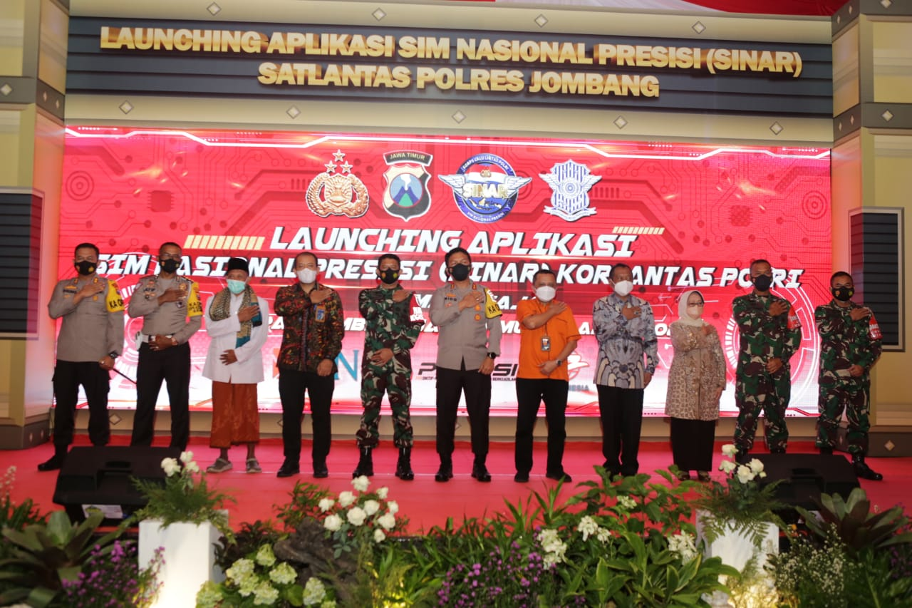 Launching Aplikasi SIM Nasional Presisi (Sinar) Korlantas Polri