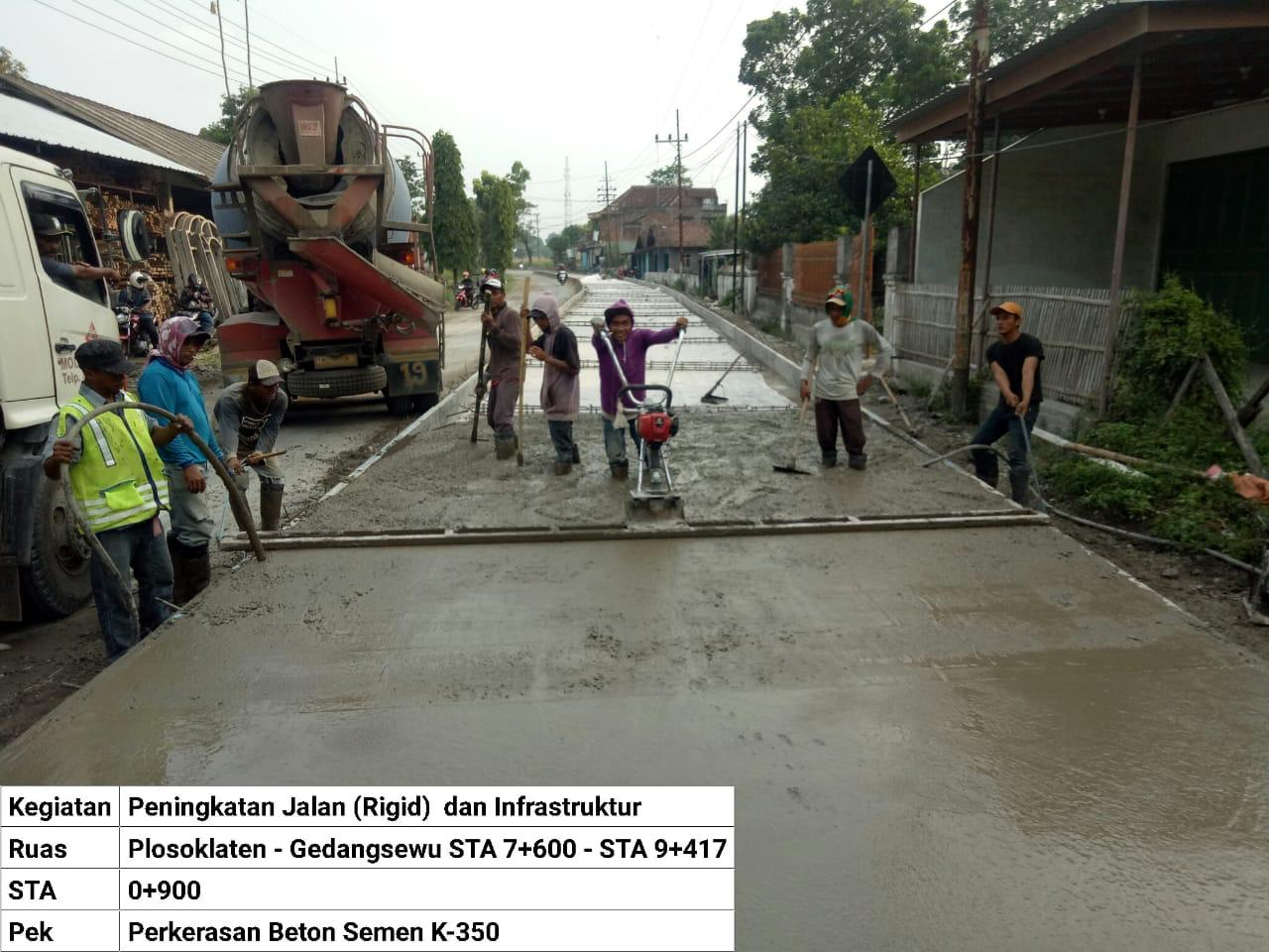 Pembangunan Infrastruktur Jalan Jadi Program Prioritas Mas Bup