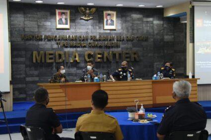 Walikota Kediri dan Bea Cukai Gelar Dialog Interaktif Pengembangan Potensi UKM Lingkar Wilis