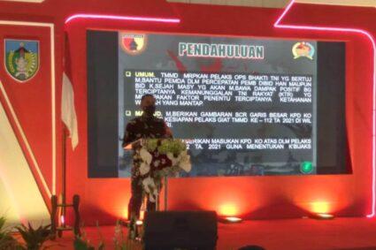 Program Tentara Manunggal Membangun Desa (TMMD) Ke-112 Kodim 0809/Kediri Resmi Dibuka