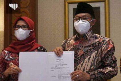 Kota Malang Raih Penghargaan Tim Pengendalian Inflasi Daerah (TPID) Terbaik se-Jawa Bali Tahun 2021